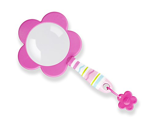 Melissa & Doug Sunny Patch Pretty Petals Flower Magnifying Glass With Shatterproof Lens