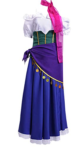 ZYHCOS Adult/Child Halloween Costume Dancing Ball Gown