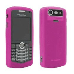 BlackBerry Rubberized Skin for BlackBerry Pearl 8100, 8110, 8120, 8130 (Blackberry Rubberized Skin)