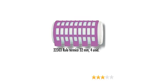 Rulo - Rulos Calientes para el Cabello, 32 mm: Amazon.es: Belleza