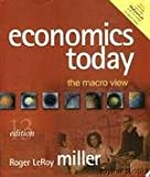 Economics Today : With Economics in Action 2001-2002 Version, Miller, Roger LeRoy, 0321278852
