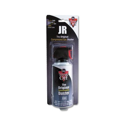 Trigger Dust (Dust-Off Products - Dust-Off - Disposable Compressed Gas Duster, 3.5oz Can - Sold As 1 Each - Blows away dust and lint. - 100% ozone safe. - Trigger controls spray power. - Slip-on extender. -)