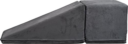 Royal Ramps 14'' Pet Ramp with Landing - Charcoal Gray by Royal Ramps