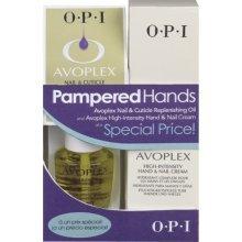 Mains OPI Nail & Pampered Avoplex Huile régénératrice à cuticules & Avoplex haute intensité mains et ongles Crème
