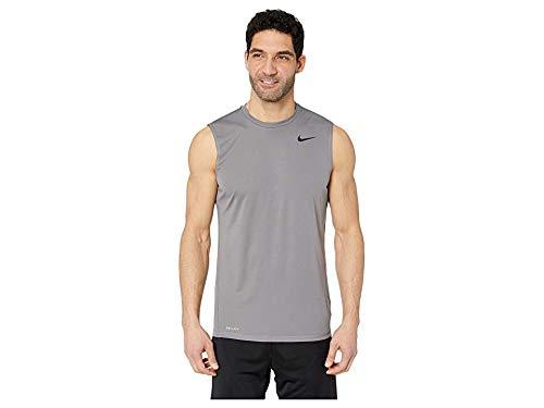- Nike Men's Solid Sleeveless Hydroguard Gunsmoke Large