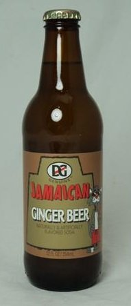Jamaica Ginger Beer - D & G Ginger Beer 12 Oz. (12 Pack)