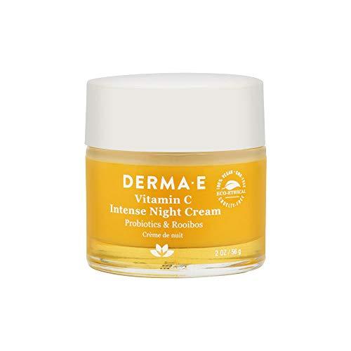 DERMA E Vitamin C Intense Night Cream, 2 oz (Best Vit C Face Cream)