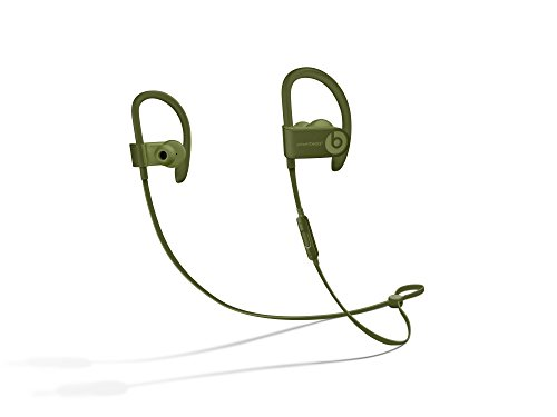 Beats Powerbeats3 Series Wireless Ear-Hook Headphones – Turf Green (MQ382LL/A) (Renewed)