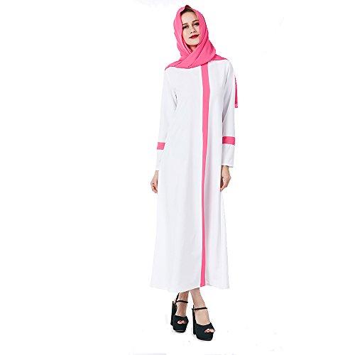 arab white dress - 8