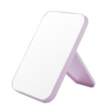 VONOTO 8''x 5.4'' Portable Desktop High Definition Makeup Mirror Vanity Mirror Cosmetic Mirror - Purple