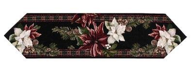 Pool Accessories Shop (Poinsettia Holiday Christmas Decorative Table Runner USA Made)