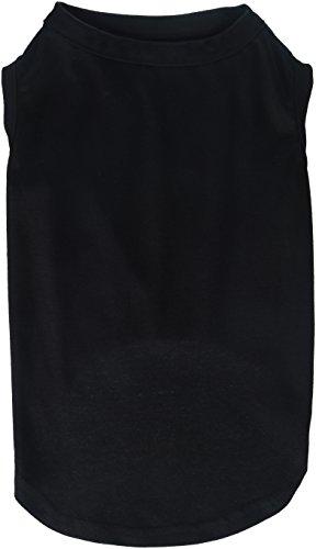 Plain Dog Shirt (Mirage Pet Products 16-Inch Plain Shirts, X-Large, Black)
