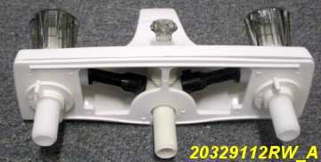 8 Quot White Utopia Mobile Home Rv Marine Tub Shower Faucet