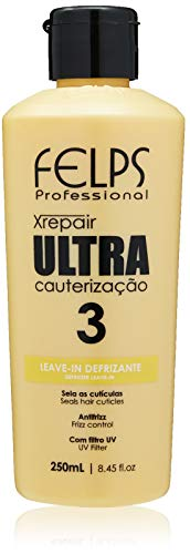Xrepair Ultra Cauterização Leave-In Defrizante 250 ml, Felps, 250ml