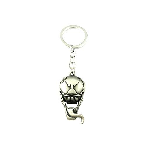 (Superheroes Brand Venom Keychain Key Ring Marvel Comics Auto/Boat House Keys)