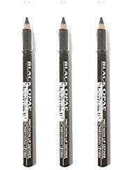 Opal Black Lip Definer (Pack of 3 Black Opal PRECISION LIP Eye Liner Definer .04 oz FRENCH ROAST)