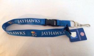 (NCAA Kansas Jayhawks Lanyard)
