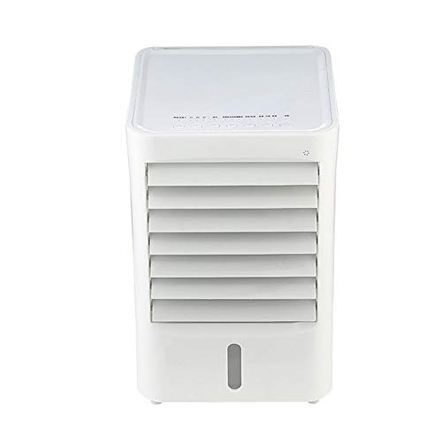 Mechanical Air Conditioning Fan - Mini Refrigeration Dormitory Multi-Function Household Silent Fan - 3 Speeds - Automatic Swing Around