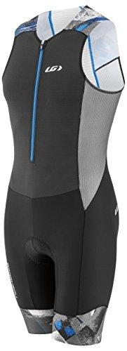 Louis Garneau Men's Pro Carbon Tri Suit (Black/Multi, XX-Large) ()