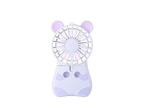 Set Da Scrivania Viola : Jkhgjuh personale ventilatore di ratto carino ventilatore portatile