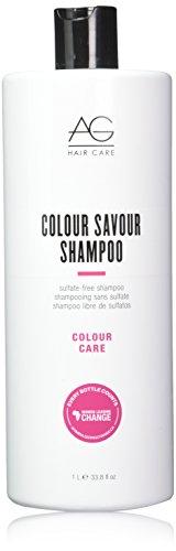 Colour Savour Sulfate-Free Shampoo by AG Hair Cosmetics for Unisex - 33.8 oz Shampoo