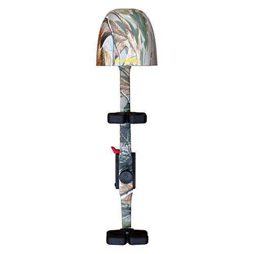 Kwikee Kwiver Kwik 3 SS 3 Arrow Bow Quiver for Archery and Hunting - Quick Detach, Lightweight, Quiet Shooting, Realtree APG Camo ()