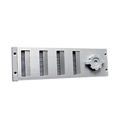 Lü ftungsgitter LG 3009 SAA Schiebegitter Alu 300 x 90 mm Abluftgitter Lüftungsgitter