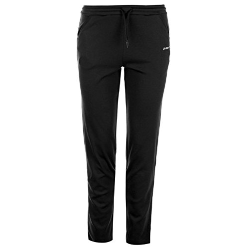 LA Gear Womens I Lk Pants Ladies Sports Running Jogging Bottoms Joggers Black 10 - Running Bottoms