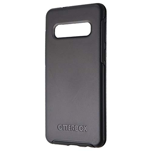 OtterBox SYMMETRY SERIES Case for Galaxy S10 - Retail Packaging - BLACK (Renewed)