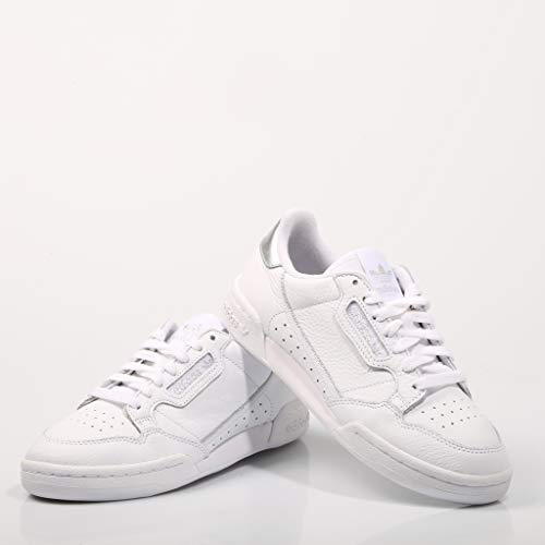 Mujer Para plata Ee8925 Continental Adidas White Bco Zapatillas nOzwUx