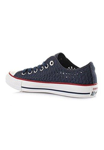 Converse Chuck Taylor All Star Crochet Ox - Zapatillas Mujer azul