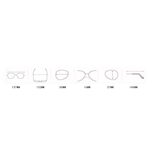 Cadre Lunettes Lunettes Lunettes 100 Rétro E de UVA Petit UVB Vintage Soleil UV de Unisexe amp; Soldes 400 Soleil Pilotes Été Hommes Oeil de Femmes Protection Ovale Chat zH5qwZW