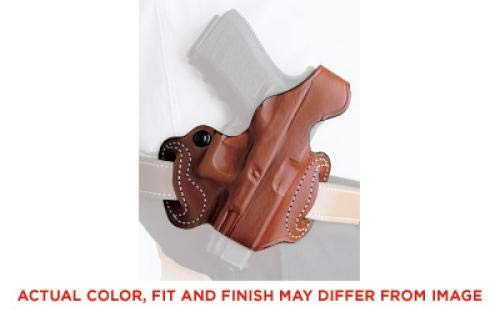 (Gunhide, 085, Thumb Break Mini Slide, Belt Holster, Fits SIG SAUER P365, Right Hand, Tan Leather)