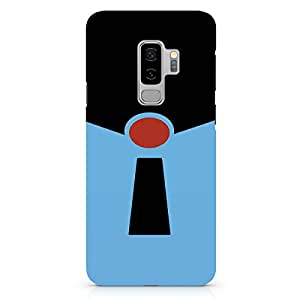 Loud Universe Frozone from Movie Samsung S9 Plus Case Incredibles Samsung S9 Plus Cover with 3d Wrap around Edges