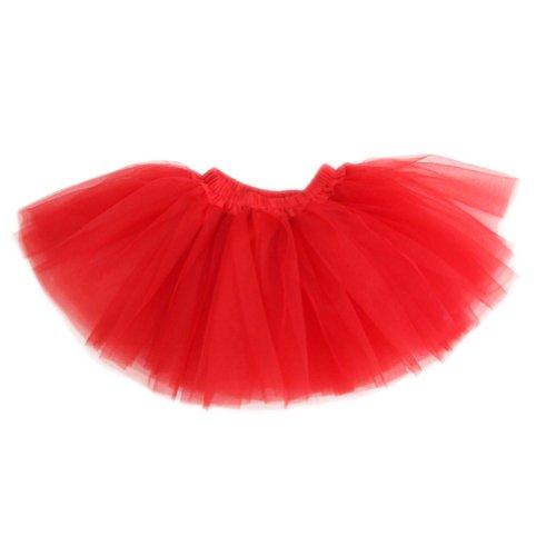 Red Tutu Child - GOGO TEAM Girl's Tutu Skirt Ballet