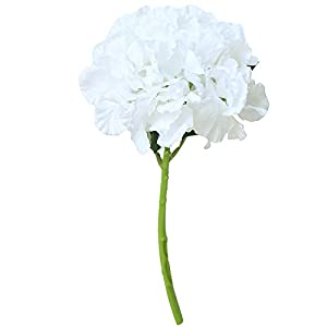 SANGQU 1Pcs Artificial Fake Flowers Peony Floral Real Touch Silk Material Arrangement Bouquets Bridal Hydrangea Home Garden Decor Room Office Centerpiece Party Wedding Decor(Vase not Included) 55