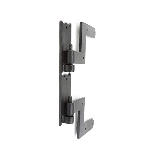 Renovator's Supply Shutter Hinge Hardware Black Iron 6 Inch X 6 1/2 Inch Set Of 6 by Renovator's Supply (Image #3)