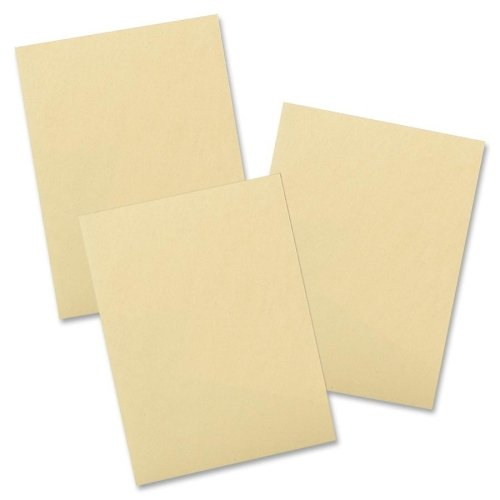 Pacon Recycleable Drawing Paper - 500 Sheet - 60lb - 12'' x 18'' - 4 Carton - Cream Manila by Pacon