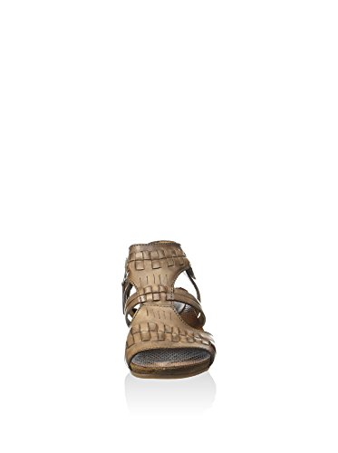 Mjus Damen Conny Sandalette, Walnuss, 40 EU