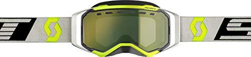 Scott Prospect Adult Snowmobile Goggles - Black/Grey/Yellow Chrome/One Size