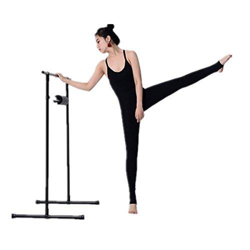 Wendywu - Barra de ballet doble para baile, portátil, no empotrado