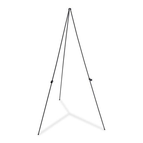 Wholesale CASE of 10 - Lorell Adjustable Display Folding Easel-Lightweight Folding Easel, Adjust Holder, 63'' H, Black