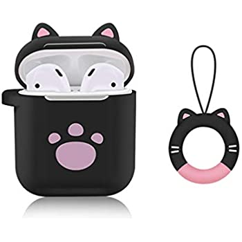 Amazon.com: IiEXCEL Airpods Case Smile Cat Cartoon, 5 in 1