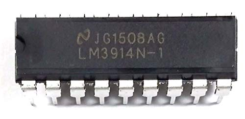 National Semiconductor LM3914N-1 LM3914 Dot Bar-Graph Display Driver Breadboard-Friendly (Pack of 35)