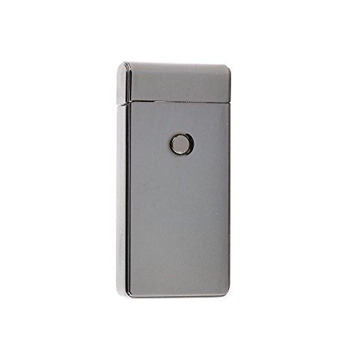 litemate Electric Dual Arc Metal Flameless Plasma Torch USB Rechargeable Pulse Lighter (Gunmetal)