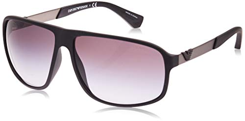 Emporio Armani Square Men's Sunglasses - 4029 5063/8G -64-13 -130 mm