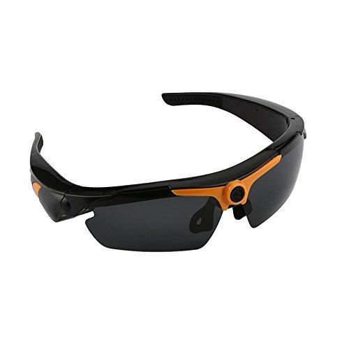 Lightdow SM23 HD 1080P Sunglass Camera Sunglasses Video Recorder with Remote Control, 170° Wide Angle & 32GB Micro SD TF - Video Remote With Sunglasses