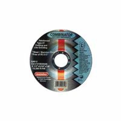Metabo 469-616502420 Grinding-Cutting Wheel44; 6 in. Dia44; 0.45 in. Thick44; A 46 U Grit Stainless Steel