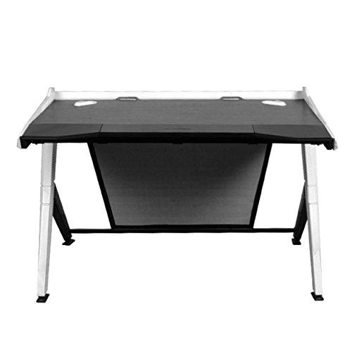DXRacer GD/1000/NW Black & White Gaming Desk