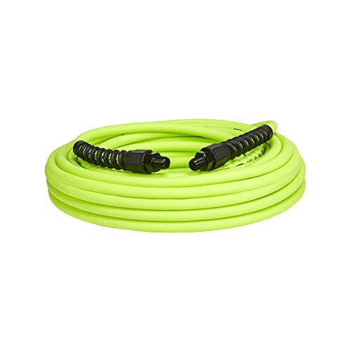 Flexzilla Pro Air Hose, 1/4 in. x 50 ft, Heavy Duty, Lightweight, Hybrid, ZillaGreen - HFZP1450YW2
